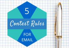 email marketing | contest rules | characters