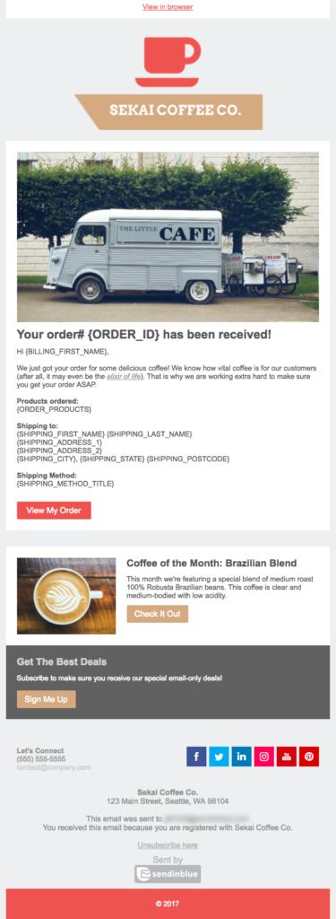 Branded Transactional Email