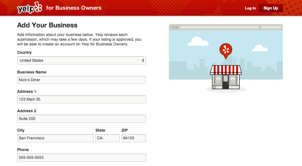 List your business on sites like Yelp.