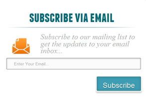 email signup form popup example