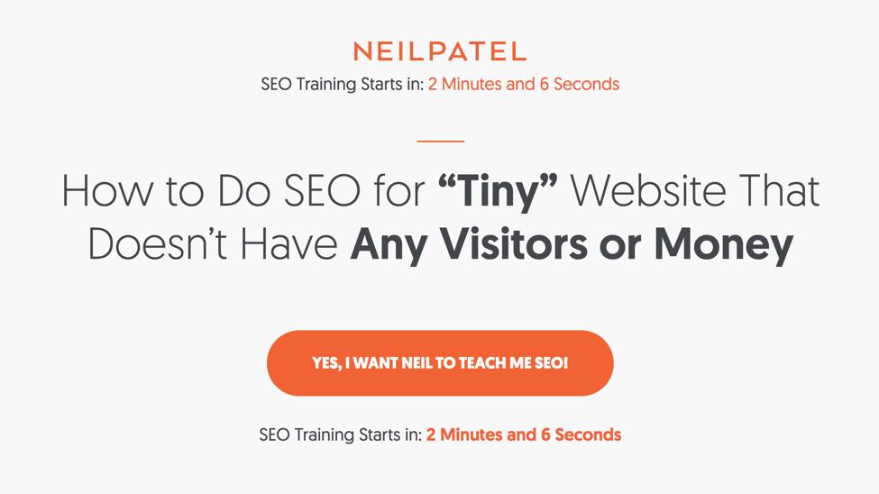 increase blog subscribers - neil patel