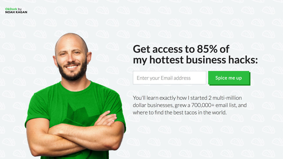 increase blog subscribers with Noah Kagan