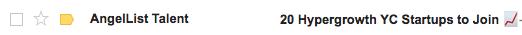 angellist email emoji
