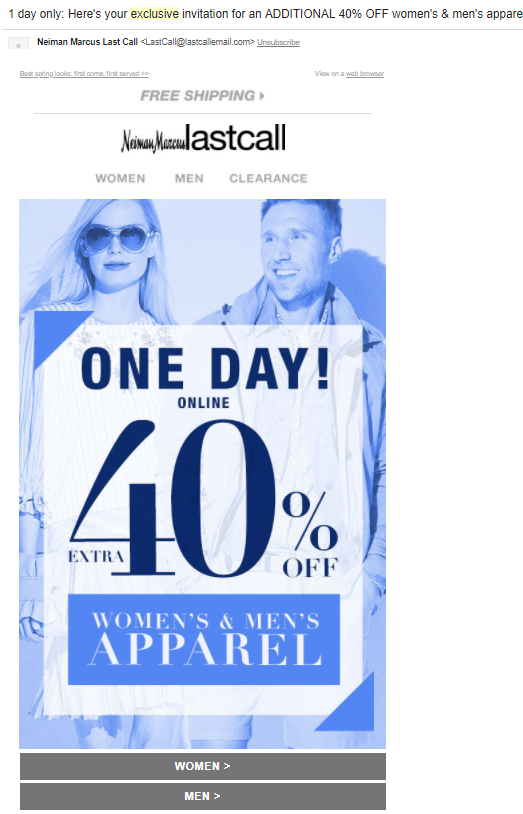 clickbait email