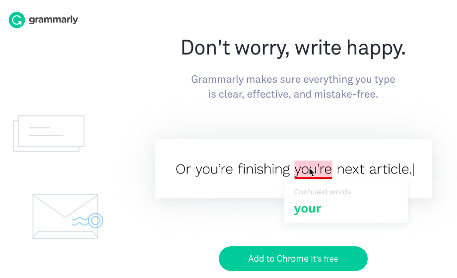 Optimize your online store content with Grammarly