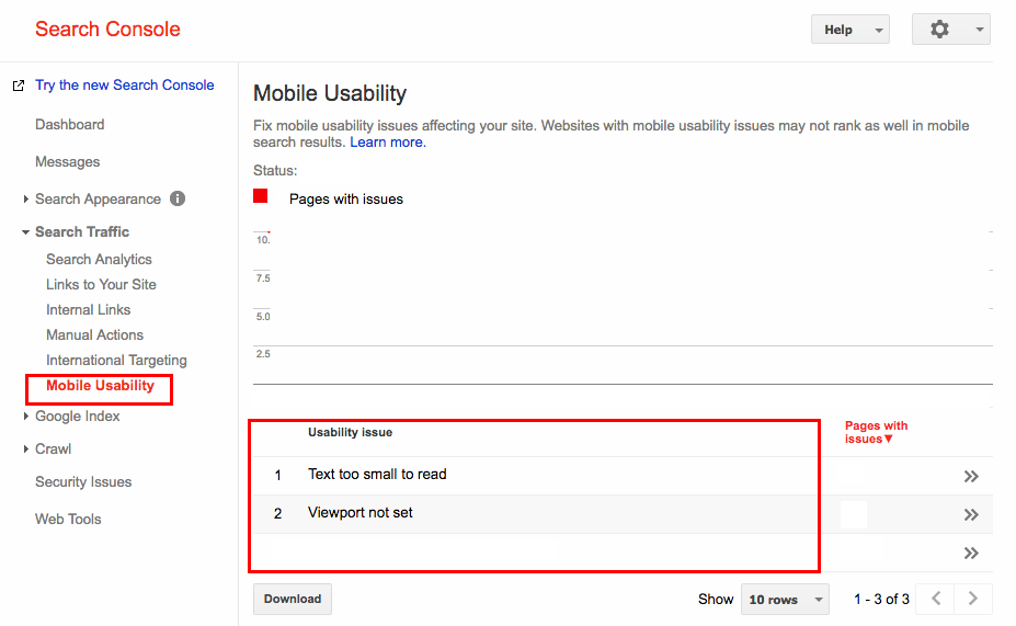 Mobile Usability report