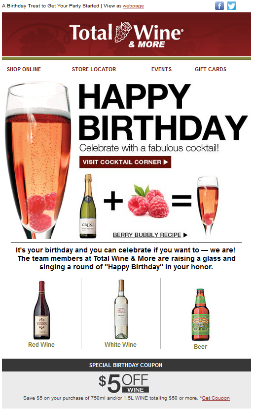total wine birthday email