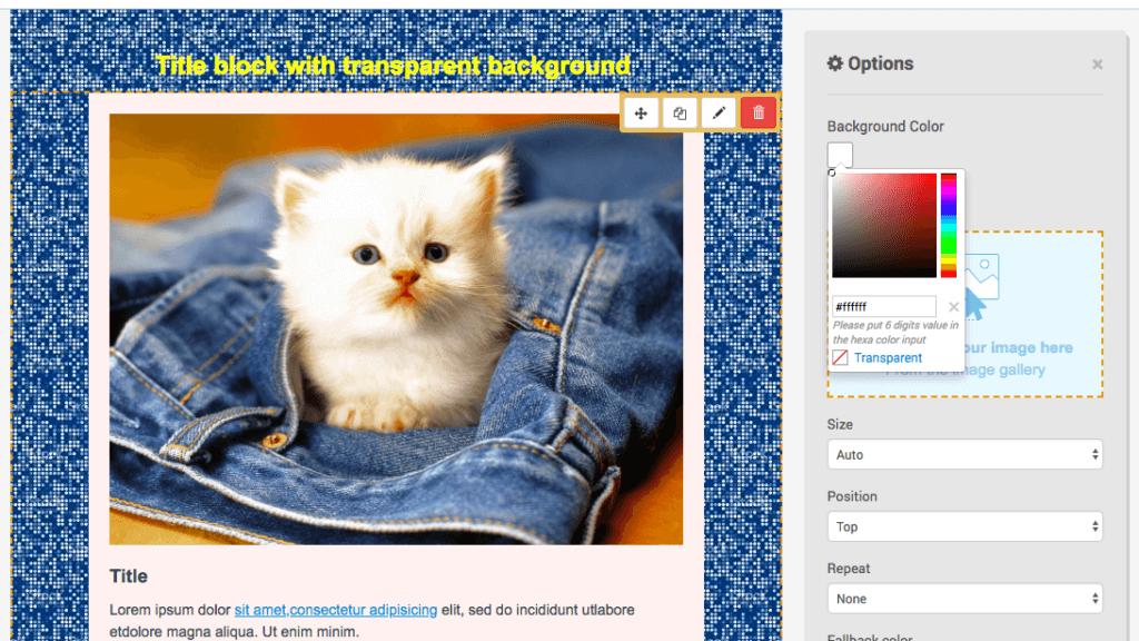 sendinblue background email image