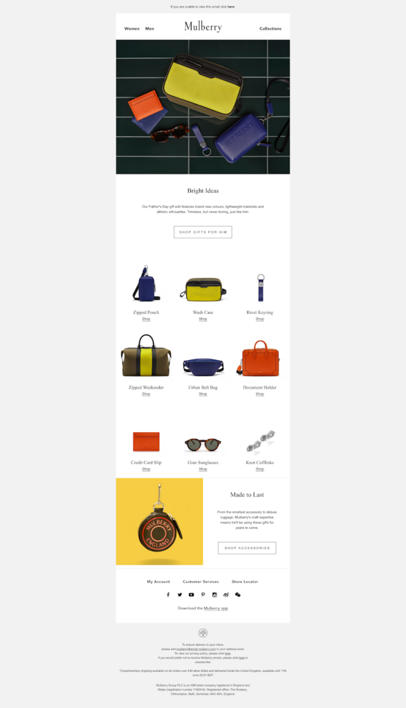 Mulberry newsletter