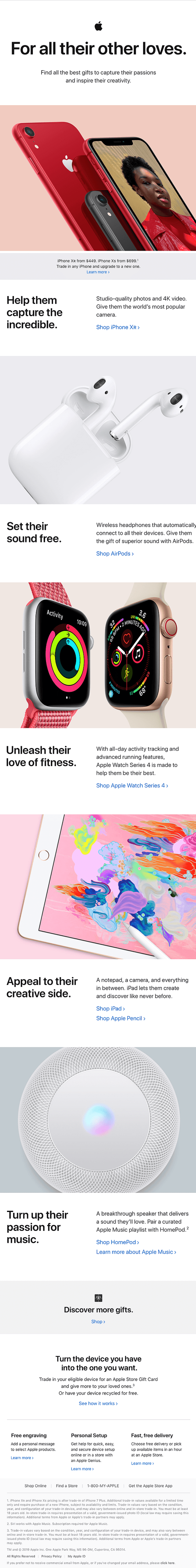 Email Marketing Example Apple-min