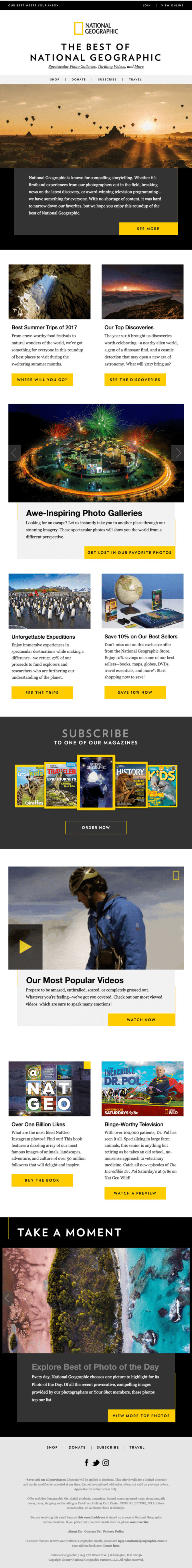 National geographic best of email