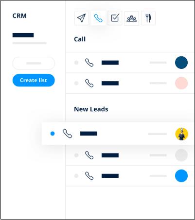 Sendinblue CRM assign tasks