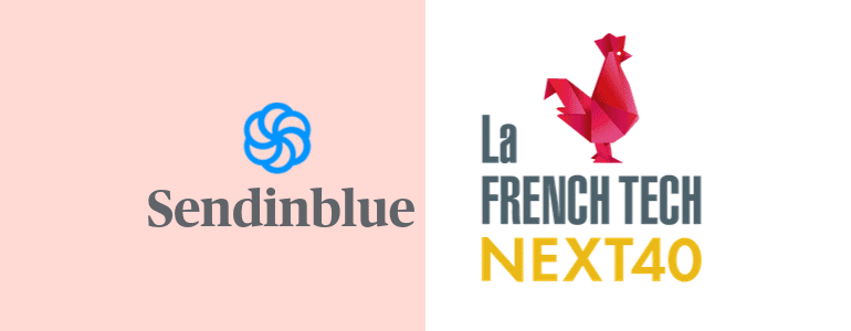 Sendinblue named in France's Next40