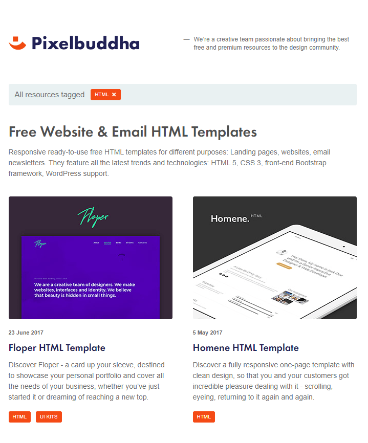 The 9 Best Sites For Free Email Templates Sendinblue