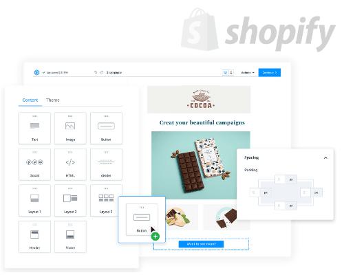 Shopify & Sendinblue