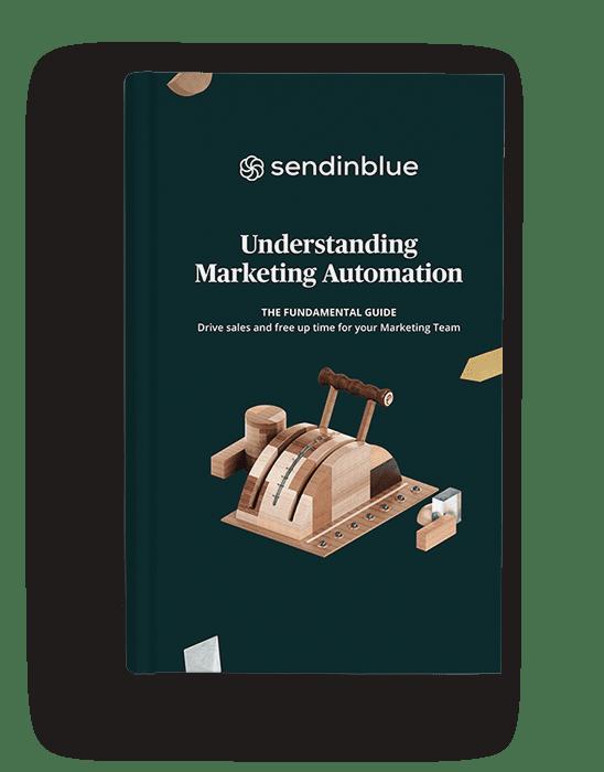 Cover of Sendinblue's Marketing Automation ebook