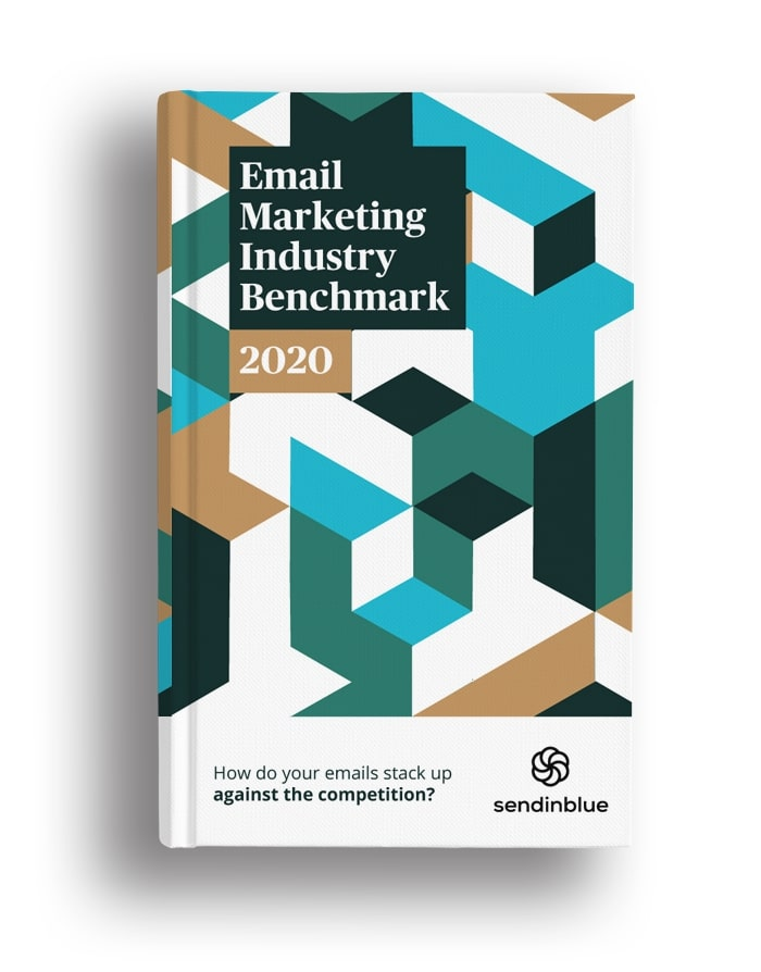 2020 email marketing benchmarks eBook cover